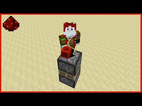 how to make a redstone piston elevator