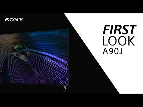 FIRST LOOK: Sony A90J BRAVIA XR MASTER Series TV