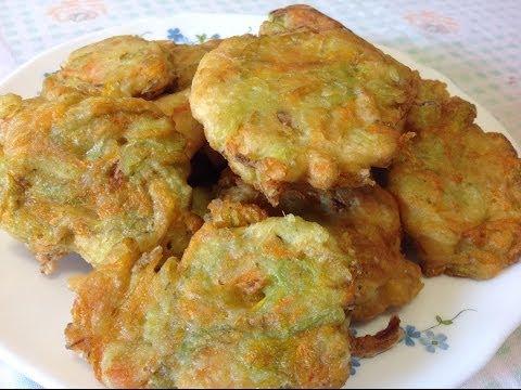 frittelle di fiori di zucchine - ricetta