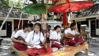 Traditional Thai Music In The Street