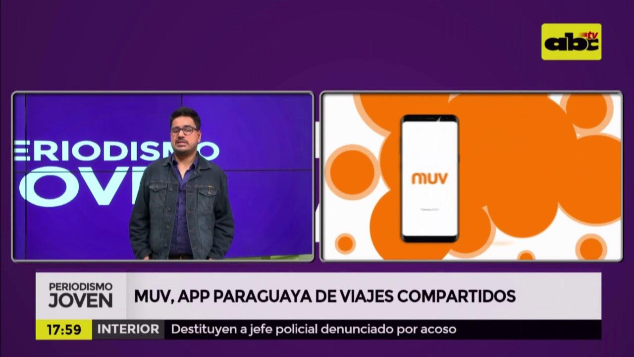 MUV, laappparaguaya de viajes compartidos