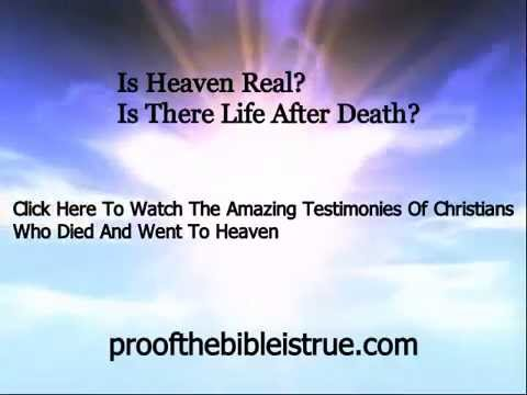 Christian Testimonies Of Heaven
