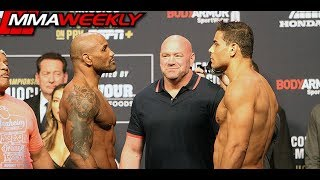 UFC 241 Ceremonial Weigh-Ins: Yoel Romero vs Paulo Costa by MMA Weekly