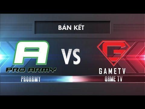 [Bán Kết] PROARMY vs GAMETV [25.11.2017]- Garena Liên Quân Mobile - Thời lượng: 56:13.