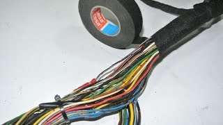 Video How to DIY - wiring harness restoration MP3, 3GP, MP4, WEBM, AVI, FLV Desember 2017