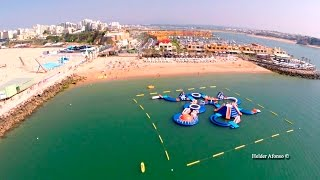 Portimao Portugal  city pictures gallery : Praia da Rocha (Rock Beach) aerial view - Portimão - Algarve