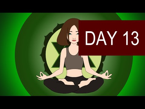Heart Chakra Meditaton – Heal Your Heart and Find Love – Day 13