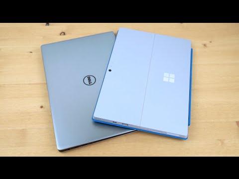Microsoft Surface Pro 4 vs. Dell XPS 13 Comparison Smackdown