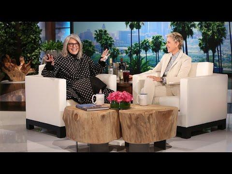 شاهد- ديان كيتون تصرح في The Ellen Show: أنا مكبوتة جنسياً
