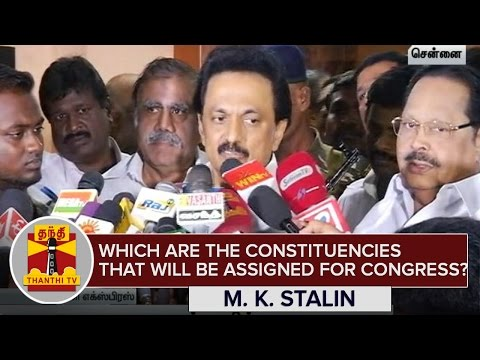 Which-are-the-Constituencies-that-will-be-Assigned-for-Congress-M-K-Stalin--Thanthi-TV