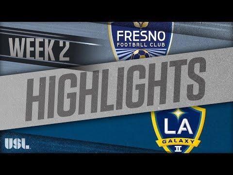 Fresno - Лос-Анджелес 2 1:1. Видеообзор матча 25.03.2018. Видео голов и опасных моментов игры