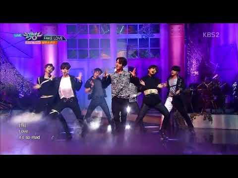 BTS (방탄소년단) - FAKE LOVE(뮤직뱅크 컴백무대)