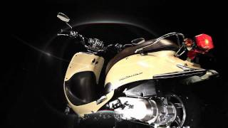 4. Lance Powersports Cali Classic 50 125 Scooter Moped Butterscotch Yellow 360 View Video