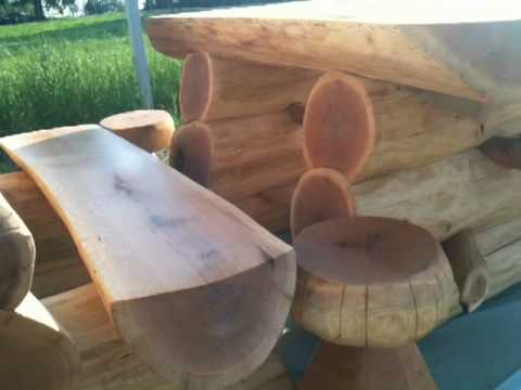 Vrtna garnitura NATURAL - Garden furniture NATURAL - Brvno doo