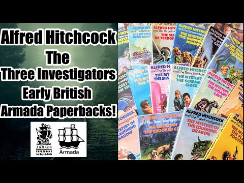 Alfred Hitchcock and the Three Investigators Complete Early UK Armada Paperbacks!