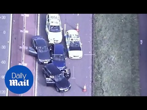 Police Bring Criminal To A Standstill After High Speed Car Chase