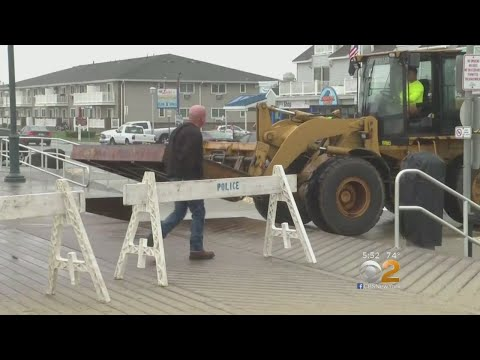 Jersey Shore Braces From Effects Of Hurricane Florence