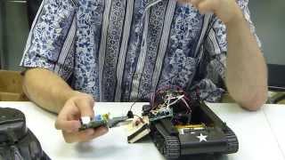 Wireless RC Tank - Raspberry Pi