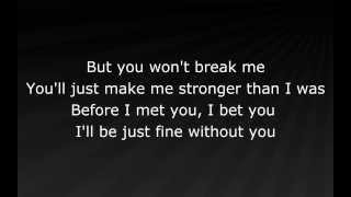 Eminem - Stronger Than I Was (lyrics)