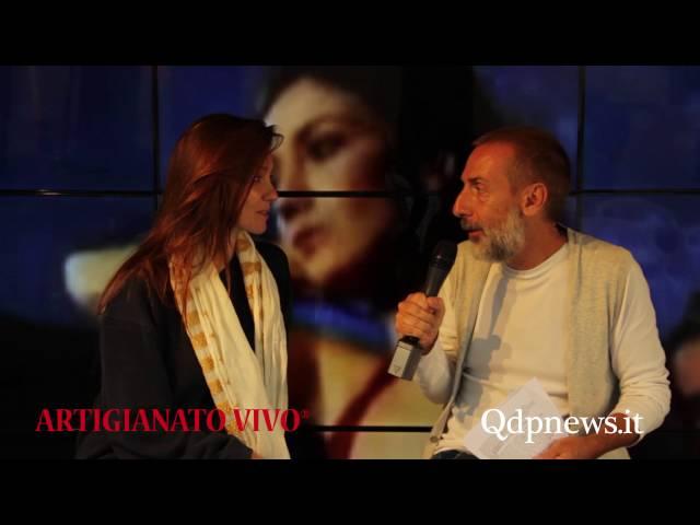 Qdpnews.it - Intervista a Patrizia Laquidara al Qdp point di Artigianato vivo