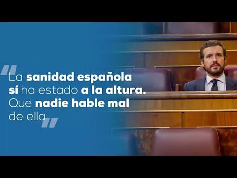 La sanidad española sí ha estado a la altura. Que nadie hable mal de ella