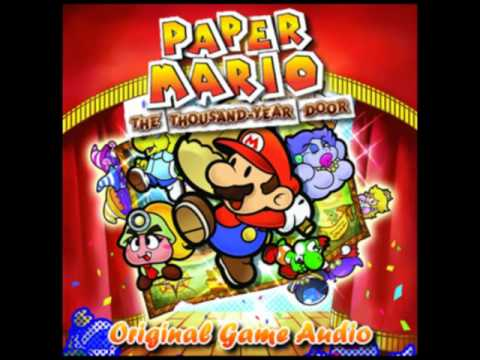 Paper Mario TTYD OST - Hall of the Thousand-Year Door