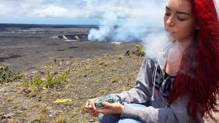 SMOKING WEED IN A VOLCANO! by HaleyIsSoarx