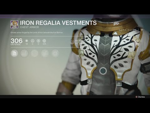Destiny - Iron Banner Armor, The Speaker Armor, & Legendary Armor!