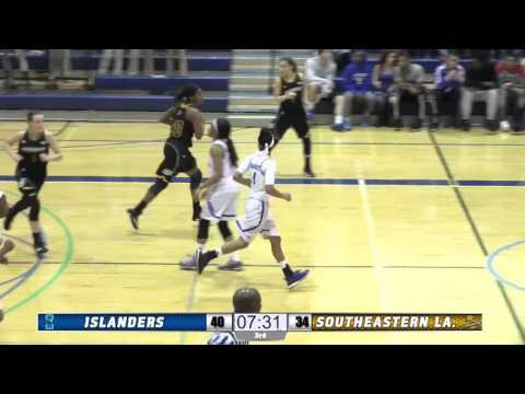 Women's Basketball Defeats Southeastern Louisiana - Highlights