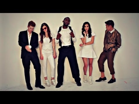 Blurred Lines - Robin Thicke (ft. Pharrell & T.I.) (Tiffany Alvord Cover) (ft. Megan Nicole & Eppic)