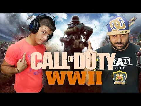 PASA MANDOS!!!! COD WWII [Crazy Crew Plays]