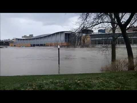 Grand Rapids - This flood is being referred to as a 100-year flood. This is not something we are used to dealing with in West Michigan. I took my wife and daughter out toda...