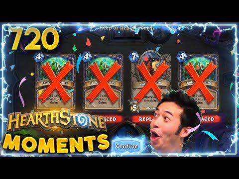 500 IQ MULLIGAN..! | Hearthstone Daily Moments Ep. 720