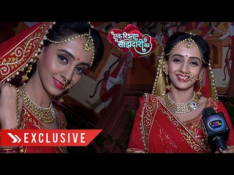 Nikita's Gorgeous Bridal Look In Ek Rishta Saajhed