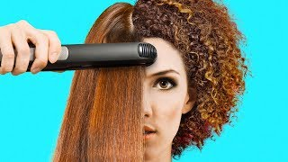Video 35 AWESOME HAIR HACKS TO BECOME A PROFESSIONAL STYLIST MP3, 3GP, MP4, WEBM, AVI, FLV Februari 2019