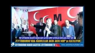 Iğdırlılar Zeytinburnu'nda MHP'ye katıldı