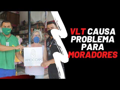 Comerciantes e moradores discutem VLT na Rua Campos Melo, em Santos