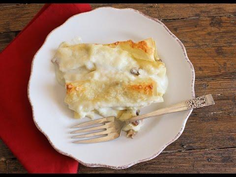 cannelloni ripieni al forno - la video ricetta