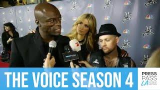 "Seal, Delta Goodrem, & Joel Madden discuss ""The Voice"" Season 4"
