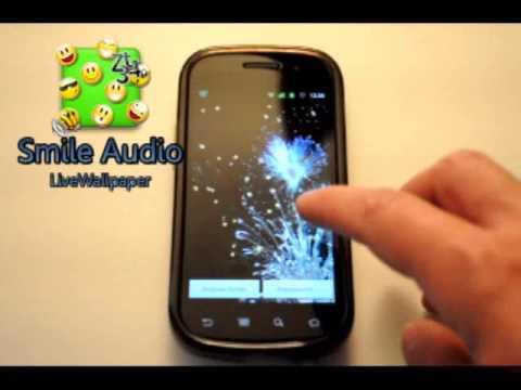 Video of Smile Audio LiveWallpaper LITE