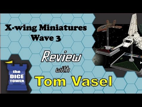 Wave x - Tom Vasel takes a look at the newest wave of X-wing Miniatures Buy great games at http://www.coolstuffinc.com Find more reviews and videos at http://www.dice...
