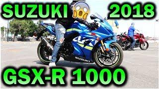9. LA NUEVA SUZUKI GSX-R 1000 2018 /  PRECIO - TEST DRIVE 2017