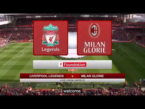 Liverpool FC Legend Vs  Ac Milan Glorie 3-2 Goals Highlight 23/3/19