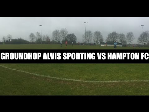 Groundhop Alvis Sporting VS Hampton FC / Green Lane
