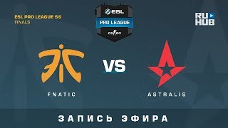 Fnatic vs Astralis - ESL Pro League Finals - de_inferno [ceh9, CrystalMay]