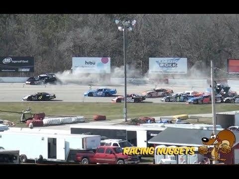 NASCAR LM Feature @ La Crosse Speedway - 04.22.18