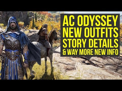 Assassin's Creed Odyssey New Story Details, Gameplay, Outfits & More (AC Odyssey Gameplay)