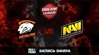 Virtus.Pro vs Natus Vincere, DreamLeague Season 8, game 1 [GodHunt, DeadAngel]