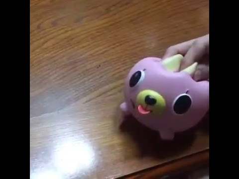Oshaberi Doubutsu Talking Animal Ball (Cat), Funny Squeaky Toy