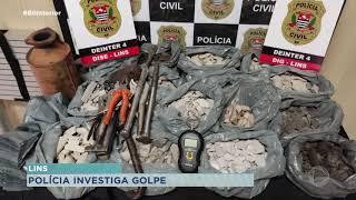 Polícia de Lins investiga golpe do catalisador